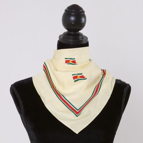 Suriname scarf (yellow)