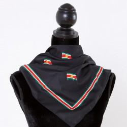 Suriname scarf (black)