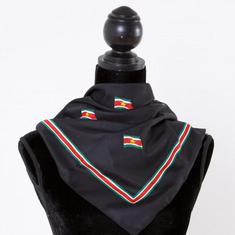 Surinaamse shawl (zwart)