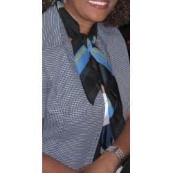 Arubaanse shawl (zwart)
