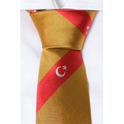 Turquía corbata (naranja)