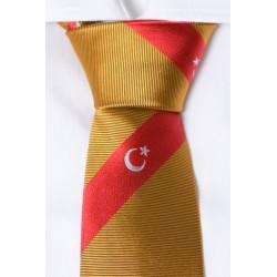 La Turquie cravate (Orange)