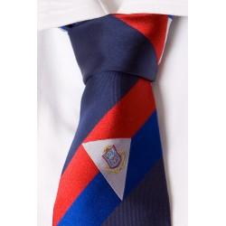 San Martin corbata azul oscura