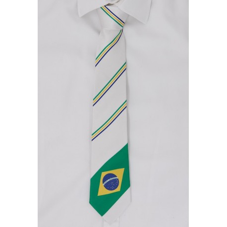 Braziliaanse stropdas (wit)