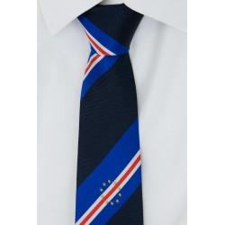 Corbata de Cabo Verde (azul marino)