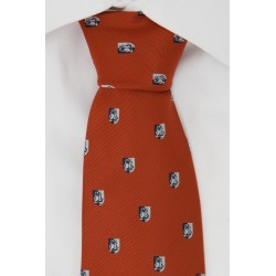 University stropdas (donkerrood)