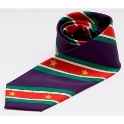 Suriname Krawatte (Violett)