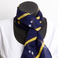 Curaçaose shawl (blauw)