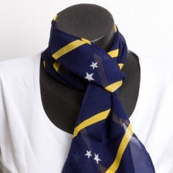écharpe Curacao  (bleu)