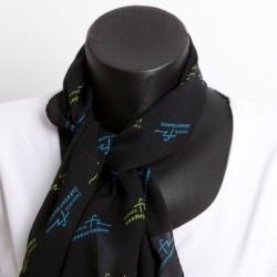 FZ Zakenvrouwen shawl (zwart)