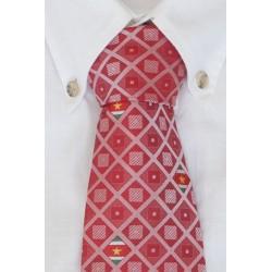 Suriname Krawatte Rot
