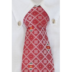 Surinamese necktie red