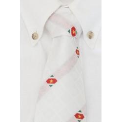 Surinaamse witte stropdas (Diamant Collectie)
