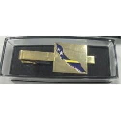 Krawattennadeln mit dem Wappen von Suriname