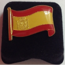 Spaanse vlag pins