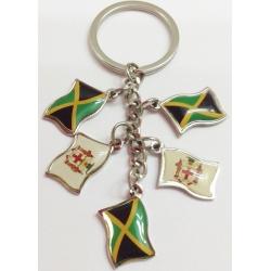 Jamaicaanse vlag  Sleutelhanger