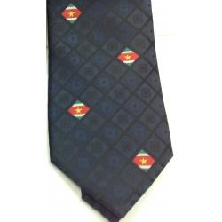 Suriname Krawatte dunkelrot