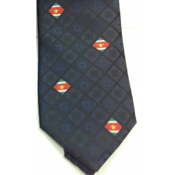 Suriname necktie darkred