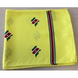 Suriname scarf (yellow)