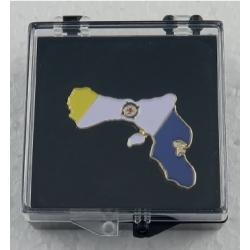 Pins mit dem Flagge von Bonaire.