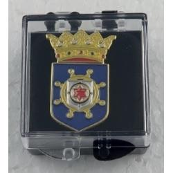 Pin met het wapen van Bonaire.