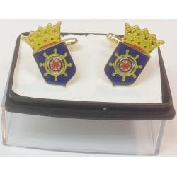 Manschettenknöpfe Bonaire Wappen