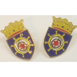 Pin with the coat of arms of Bonaire