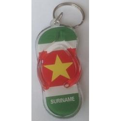 Surinaamse Sleutelhanger ( vlag & wapen)