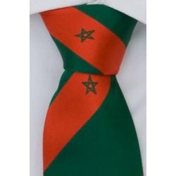 Moroccan tie green