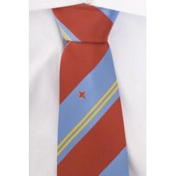 Aruba corbata rojo oscura