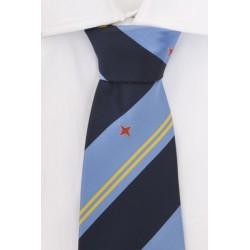 Aruba corbata azul oscura