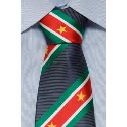 Suriname Krawatte dunkelblau