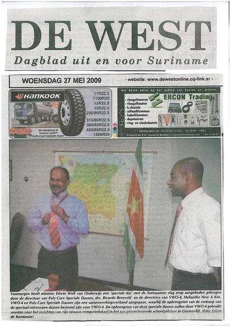 Suriname: De West